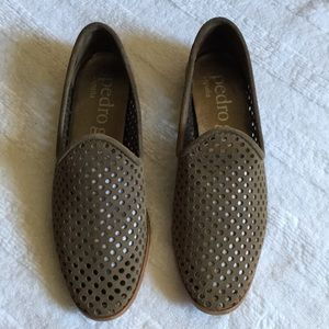 Pedro Garcia perforated Leather loafers